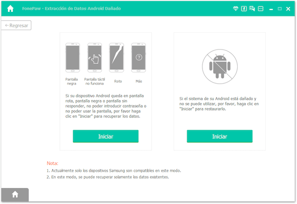 Conectar Android brickeado al PC