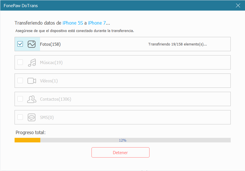 transferir datos desde winphone a dispositivos android