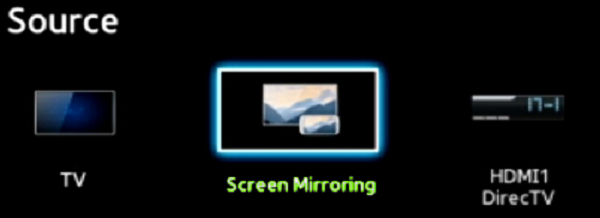 screen mirroring tv